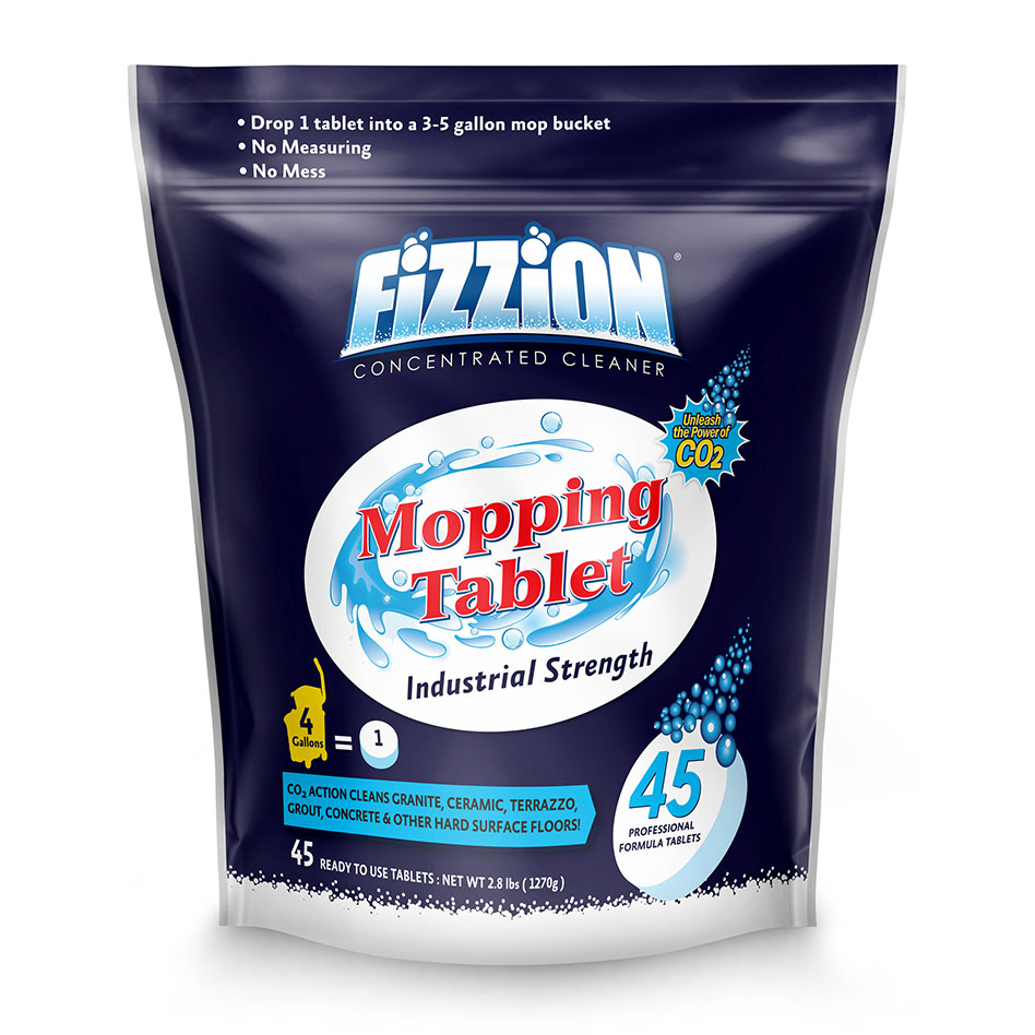 Fizzion Mopping Tablet Industrial Floor Cleaner – 45 Tablet Bag