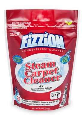 Steam Carpet Cleaner – Fizzion Concentrated Cleaner – 20 Tablet Bag