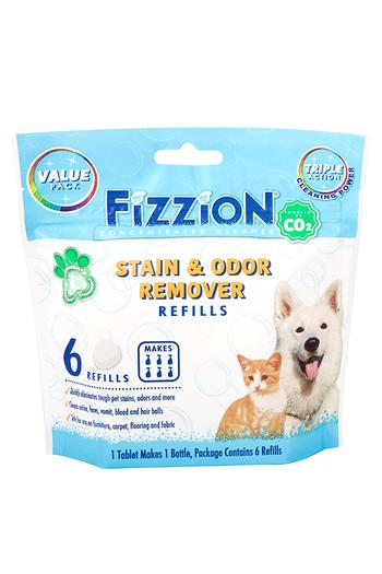 Fizzion Pet Stain and Odor Removers – 6 Refill Pouch
